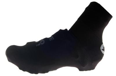 """Jag har använt mig av Assos strumpliknande skoöverdrag. På vristen står att läsa  mantrat """"have a good ride!"""""""