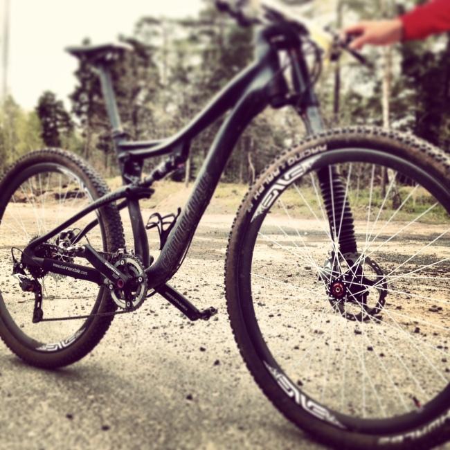 """Från början kallade jag cykeln """"den fula ankungen"""" men det har jag ändrat på och tycker den är riktigt häftig."""