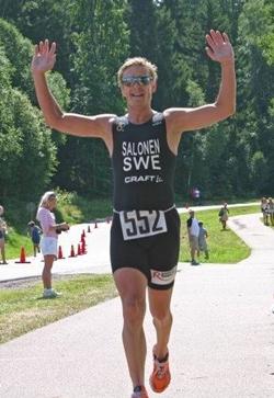 Pasi Salonen, ska bli världens bästa 50-åring i triathlon.