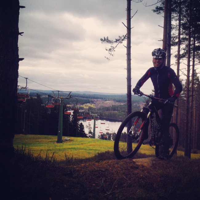 Keith längtar efter att få visa de fina cykelmöjligheterna på berget!