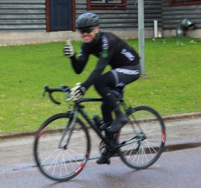 Keith är glad i att arrangera cykelevent.